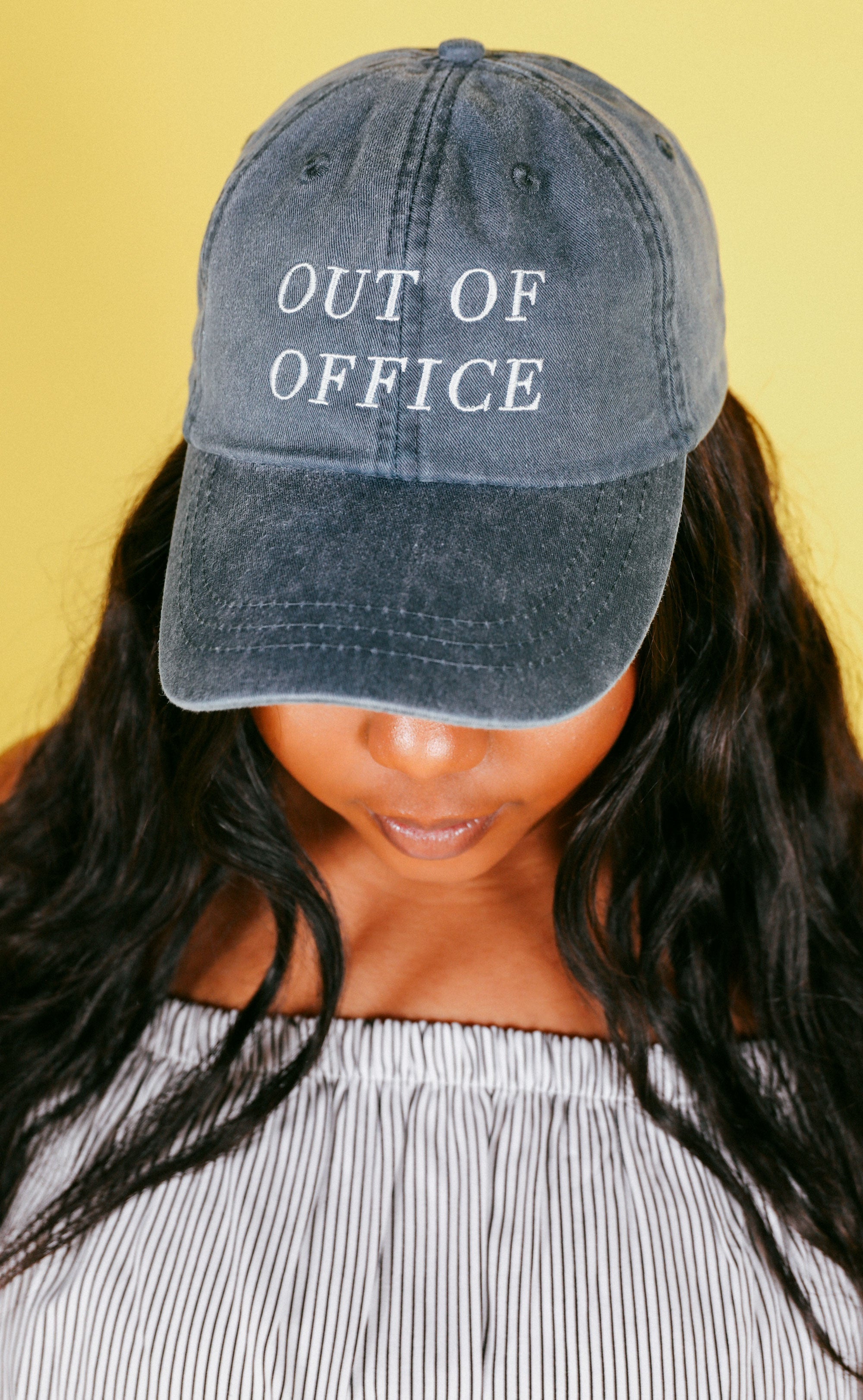 d9533577e9a3a friday + saturday  out of office hat – ShopRiffraff.com