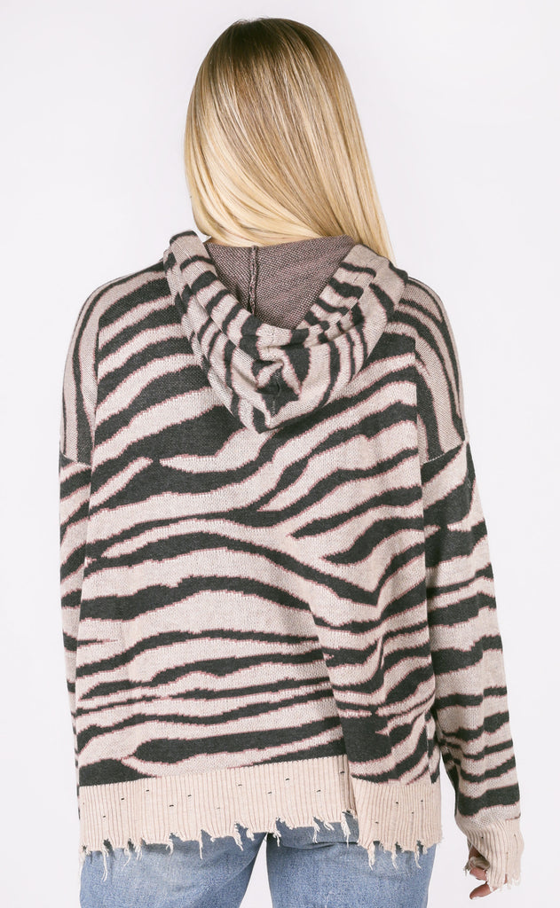 safari adventure hooded sweater