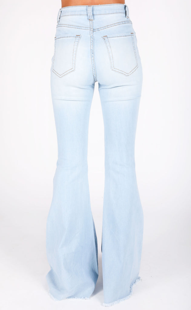 saturday night fever flare jeans