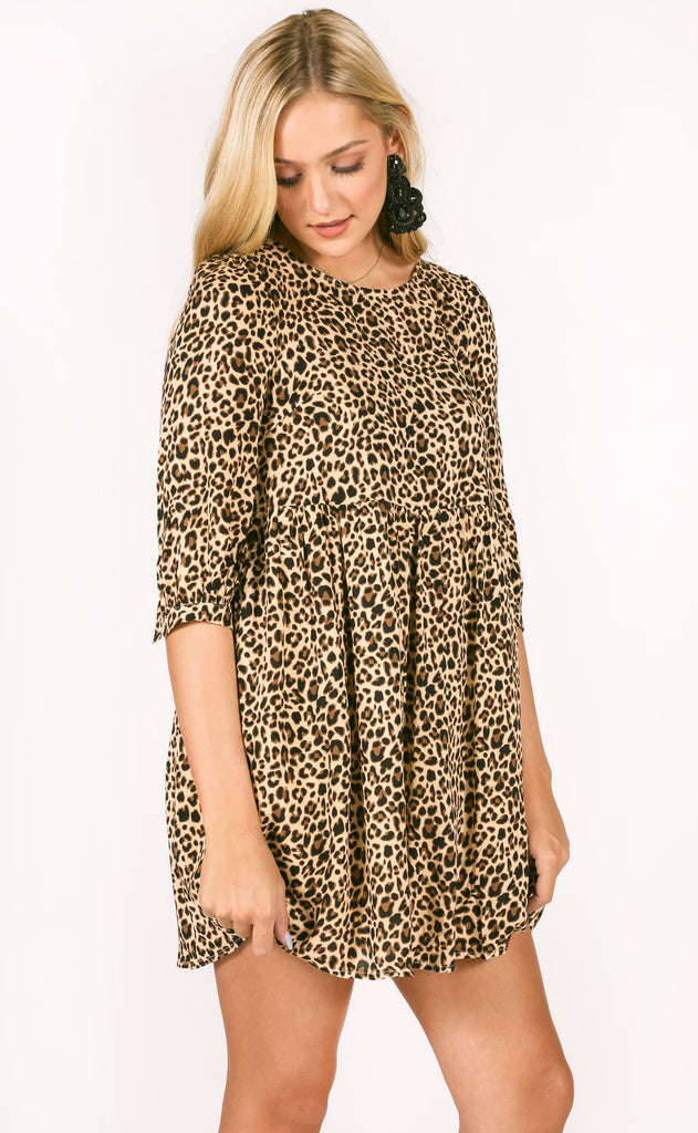 seeing spots babydoll dress