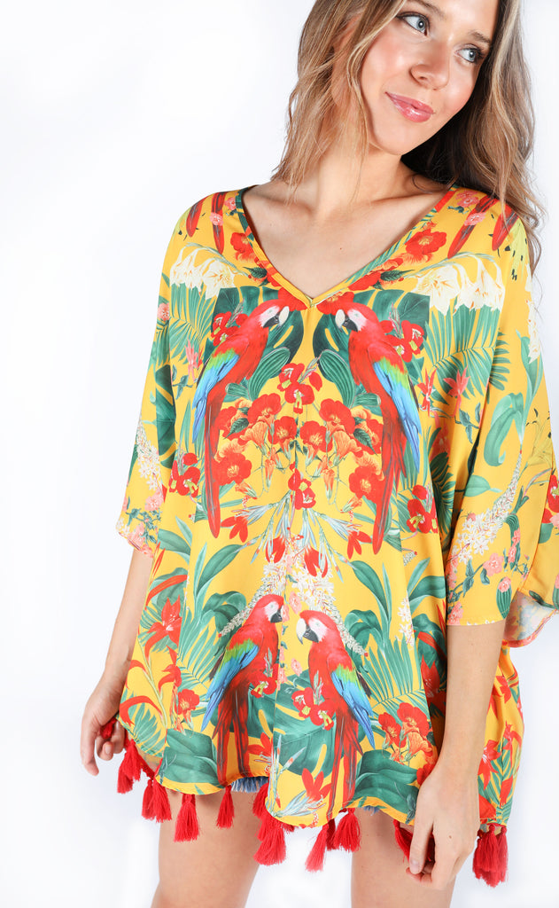 show me your mumu: shook tassel tunic - polly's paradise