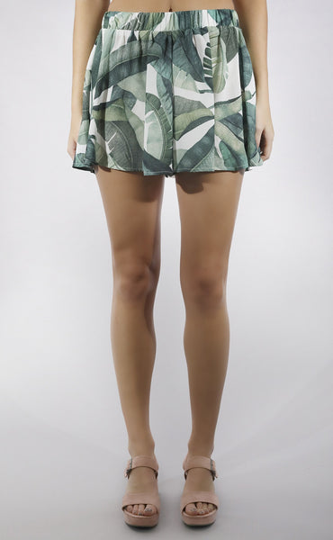 show me your mumu: carlos swing shorts - banana leaf