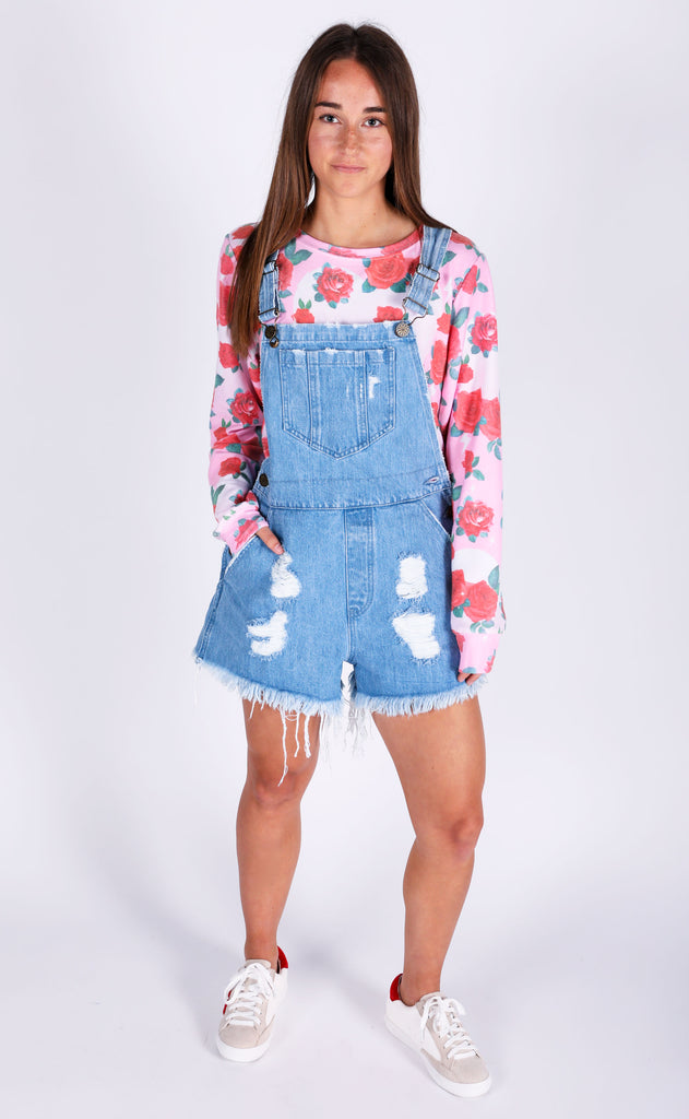 show me your mumu: georgia overalls - tide