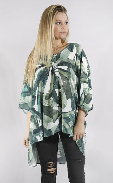 show me your mumu: shook tunic - banana leaf