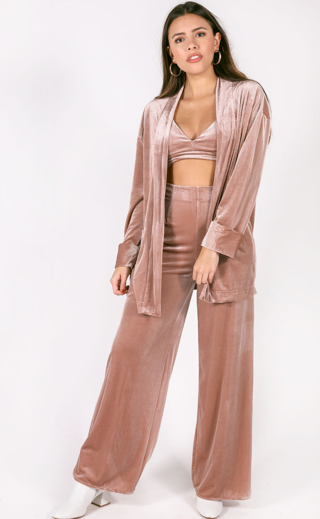 show stopper three piece set - mauve
