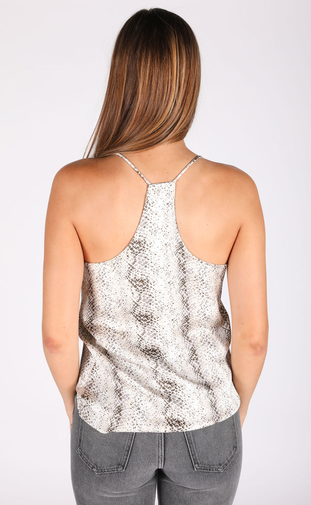slither printed cami
