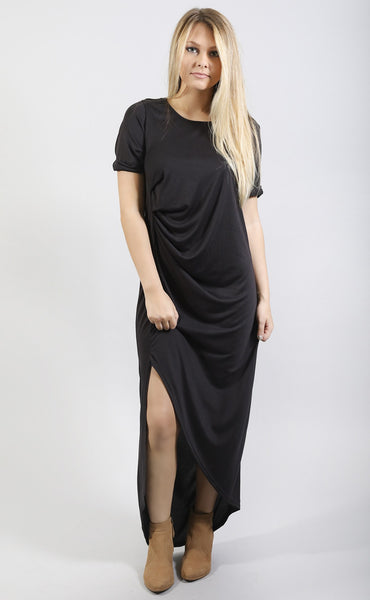 the slouchy t shirt dress