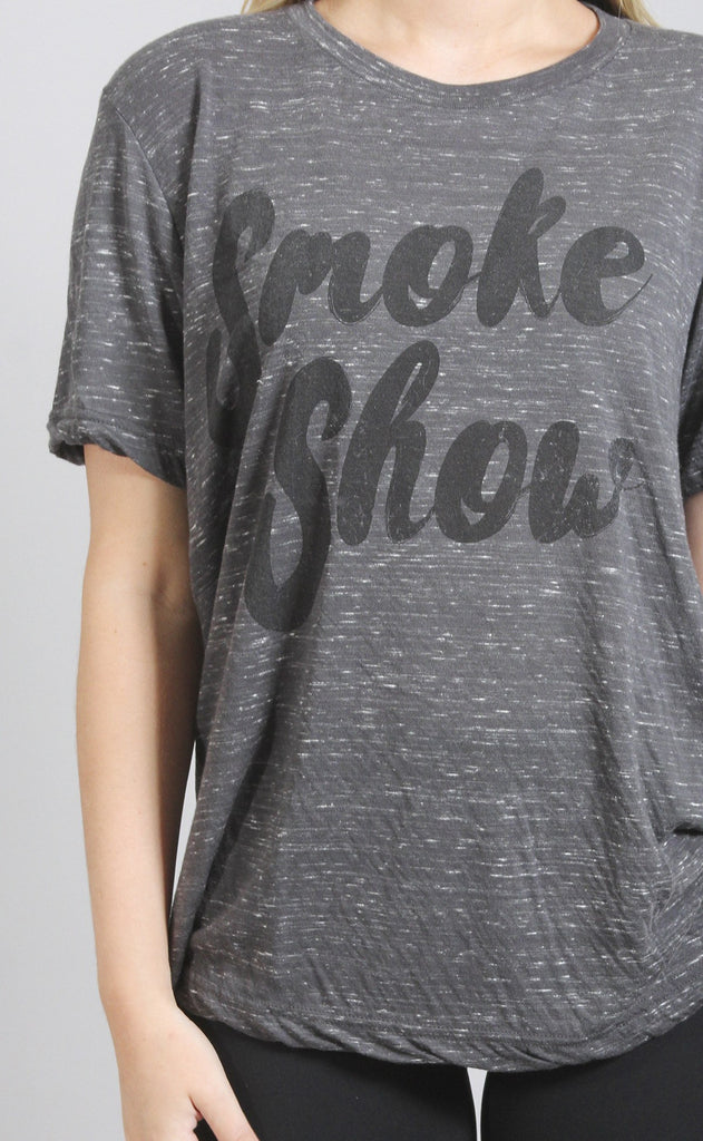 friday + saturday: smoke show t shirt