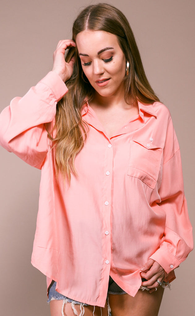 smooth sailing button up top