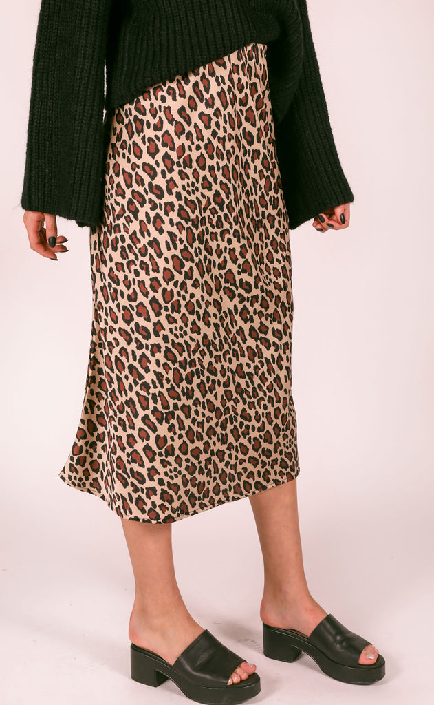 show me your mumu: maci skirt - cheetah fever