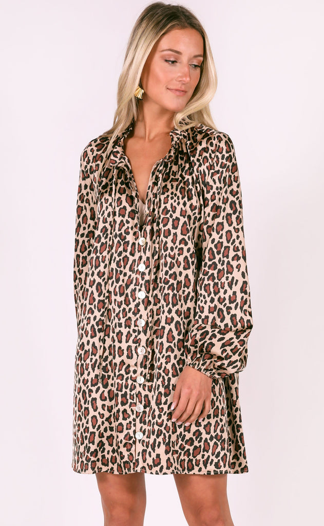 show me your mumu: mckenna dress - cheetah fever