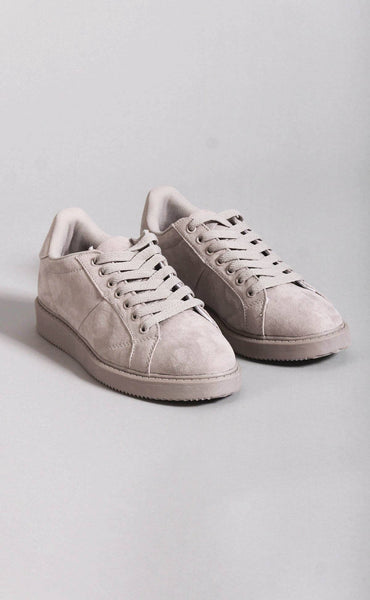 on the run suede sneakers