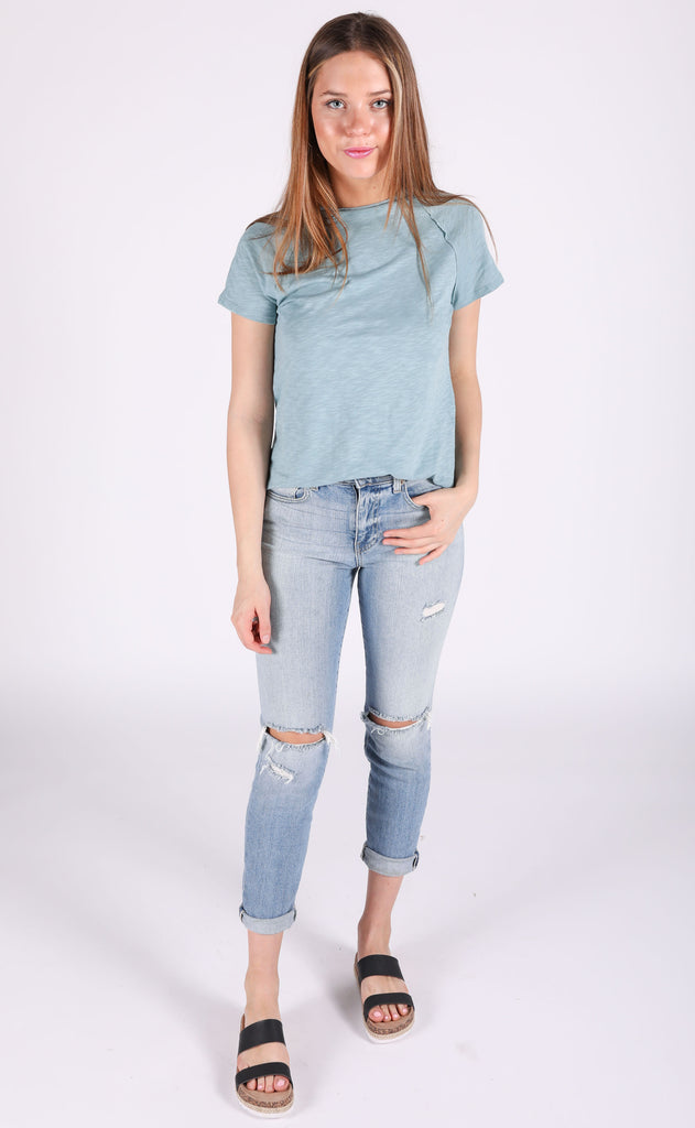 so perfect basic top - pale blue