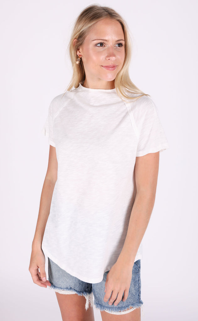 so perfect basic top - ivory