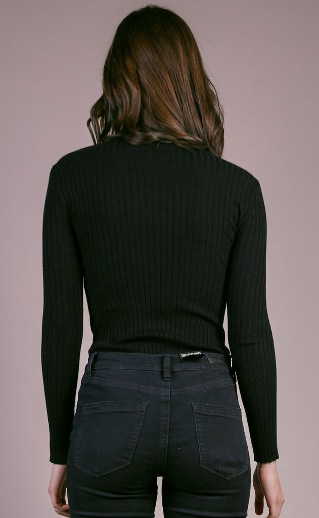 so sleek ribbed bodysuit