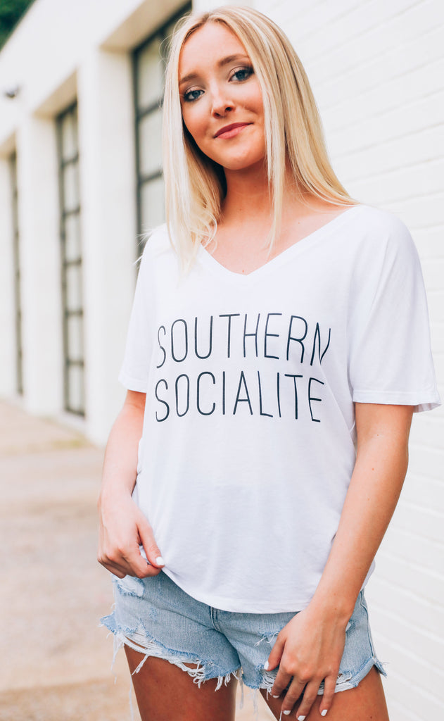 charlie southern: southern socialite t shirt
