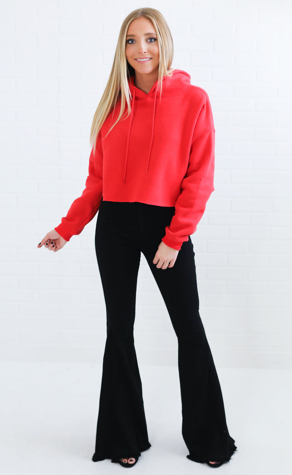 sporty spice crop sweatshirt