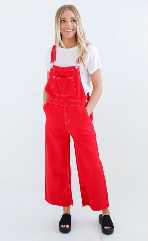 spruce up overalls