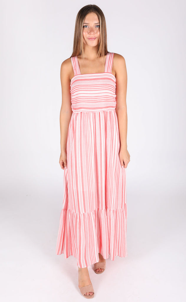 st. lucia striped dress