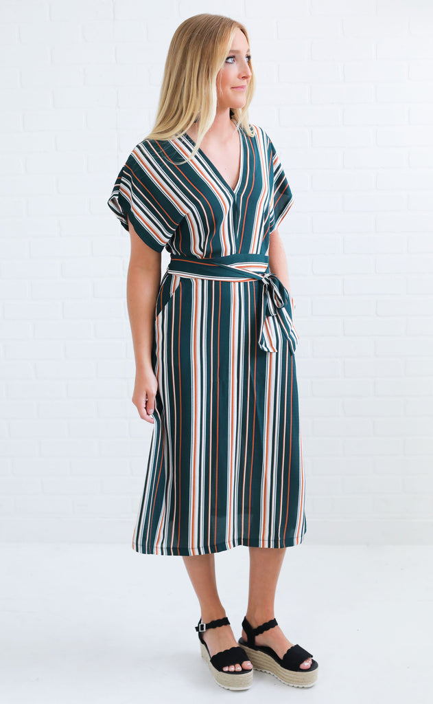 stand by me striped dress