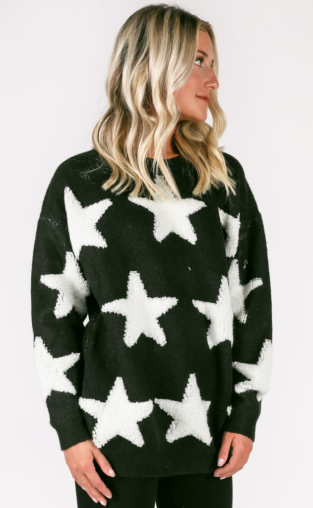 starlight oversized sweater