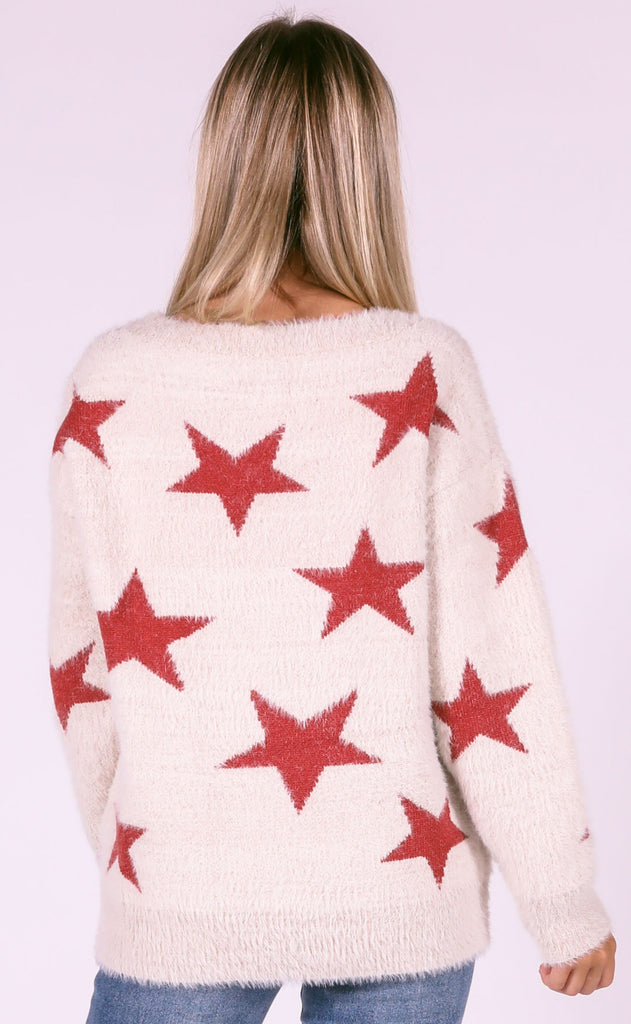 starstruck knit sweater