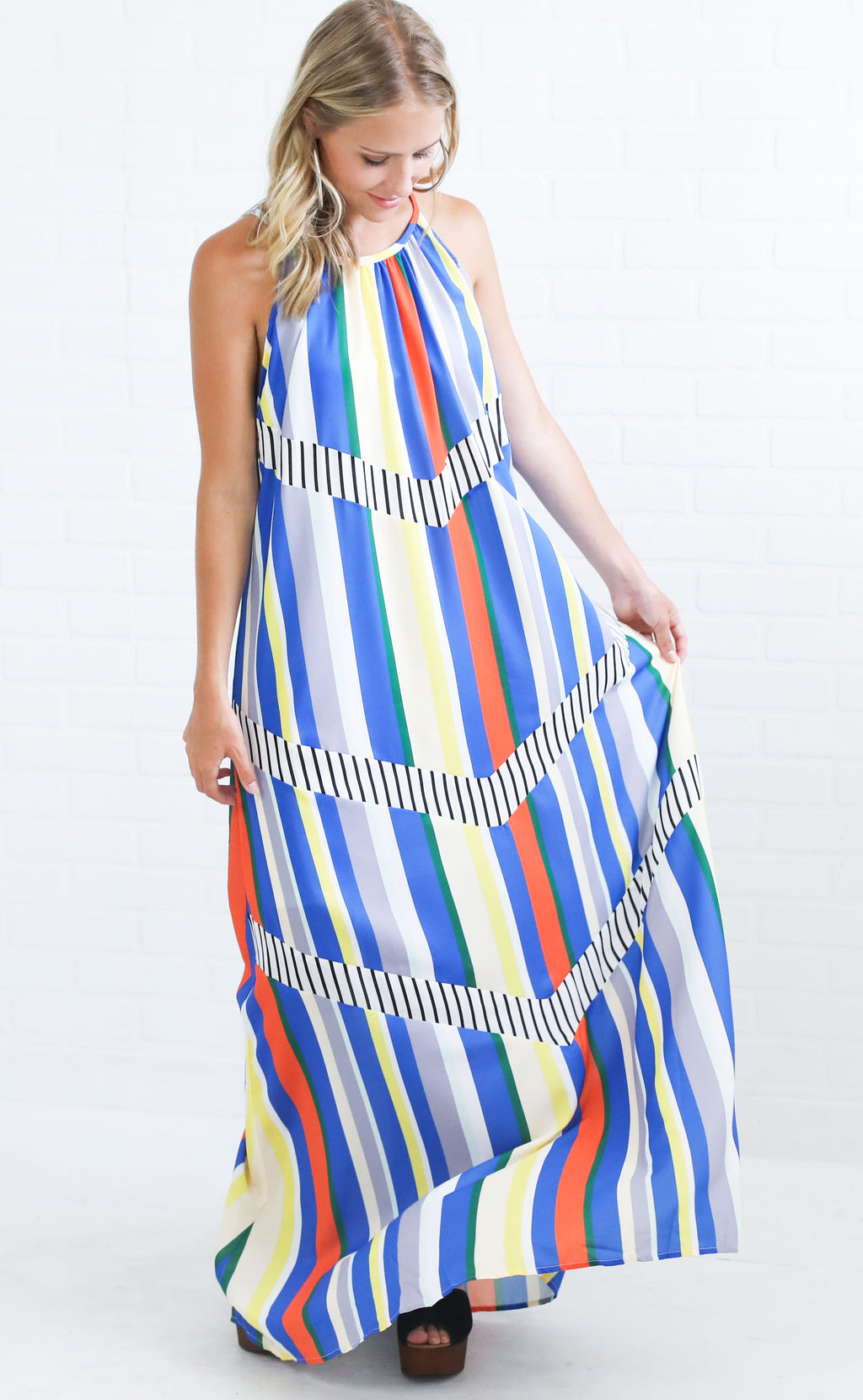 statement piece maxi dress