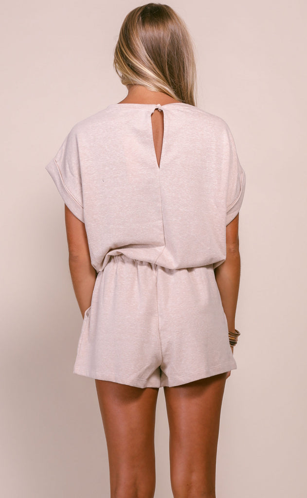 stay home knit romper