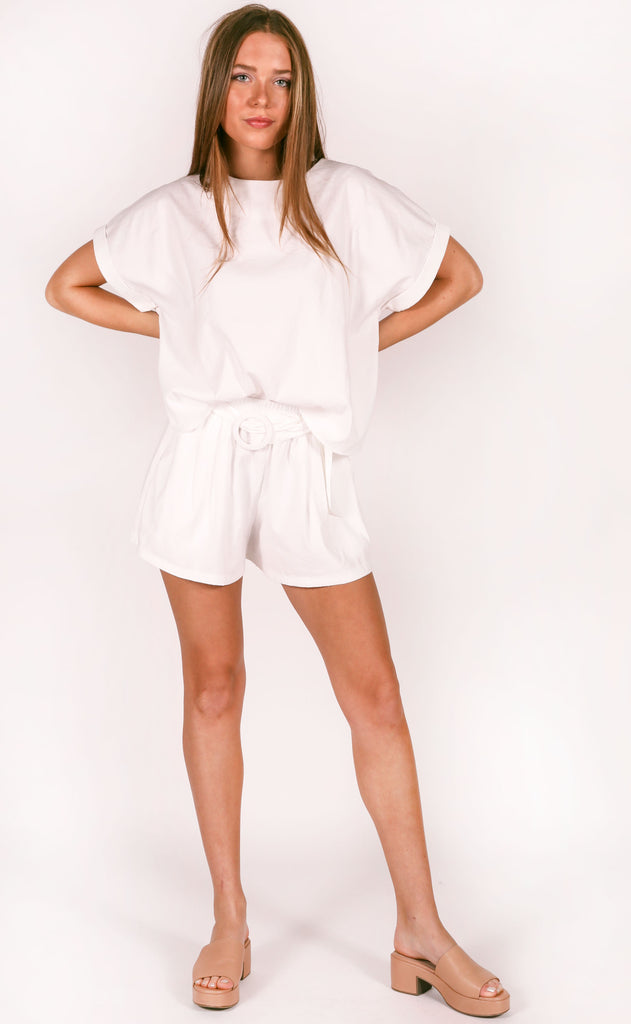 stick together two piece set - ivory