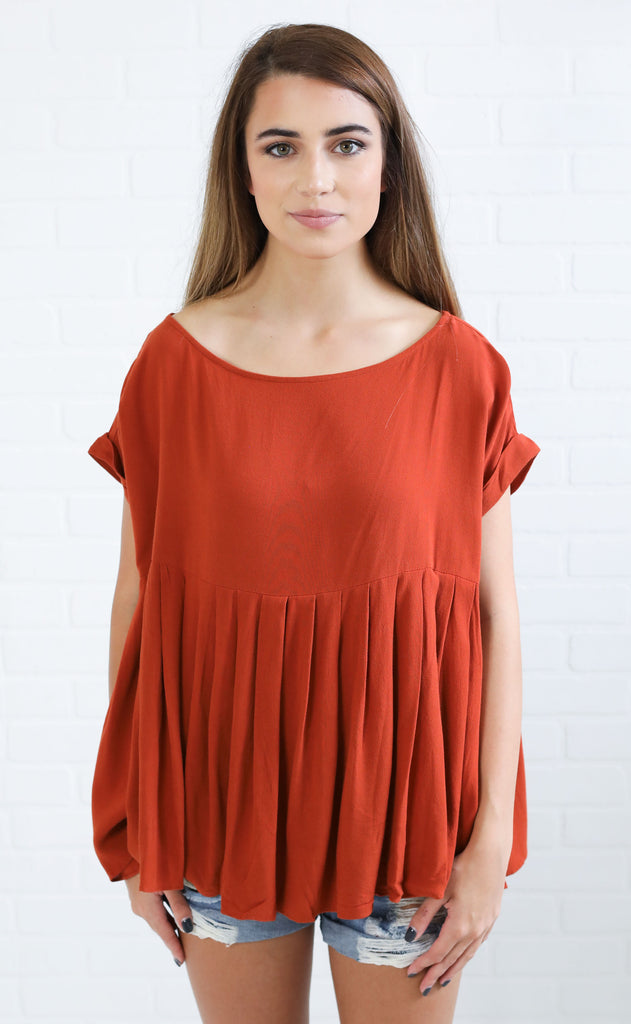 sugar + spice flowy top