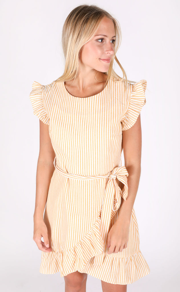 summer essential striped dress