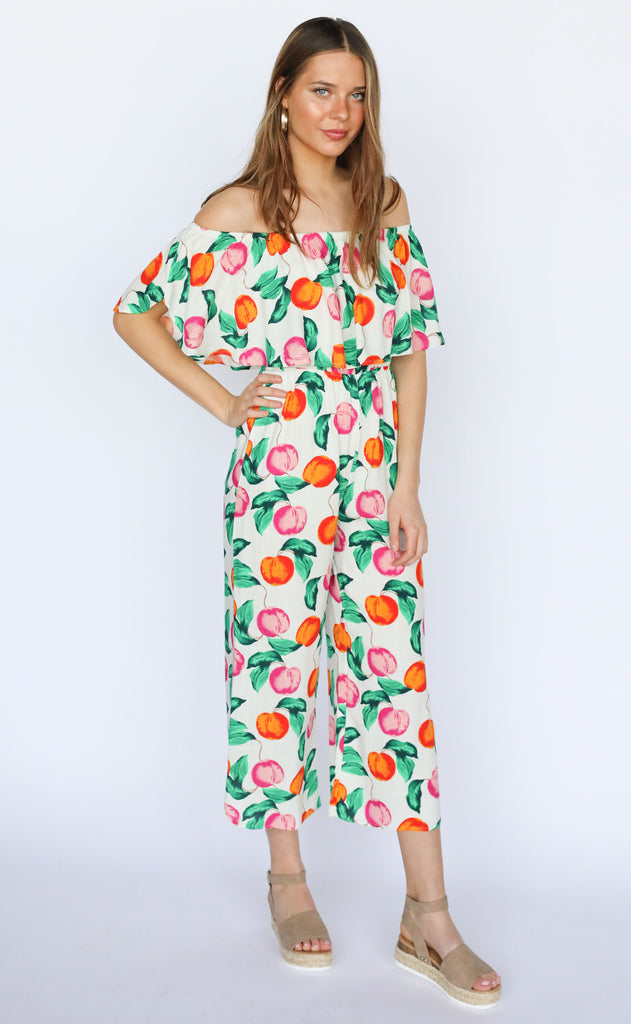 summer lovin' printed jumpsuit