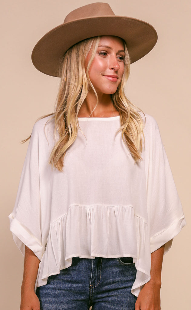 summer breeze flutter top