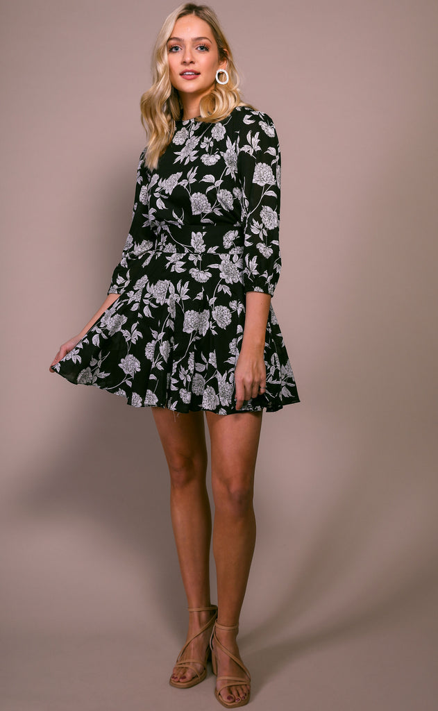 sunday best floral dress