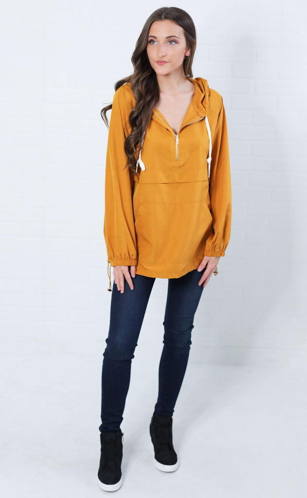 sunflower pullover jacket