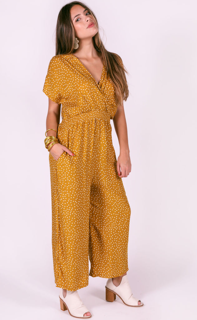 sunset drive printed jumpsuit