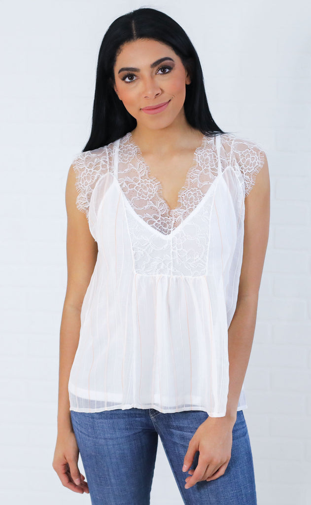 sweet treat lace blouse