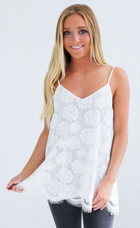 sweet dreams lace tunic