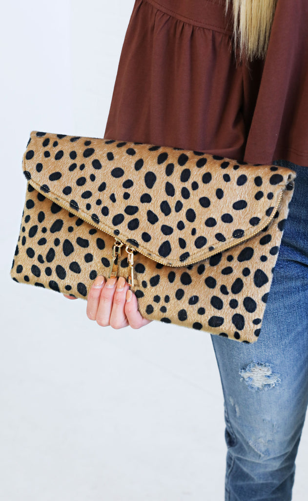 on the prowl fur clutch