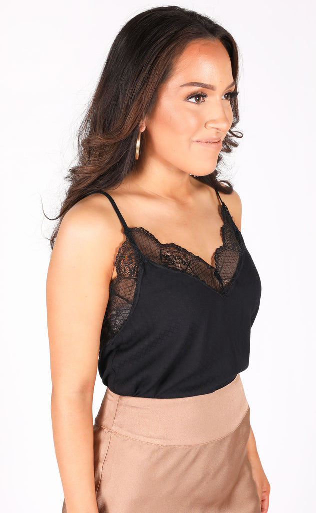 sweet treat lace cami