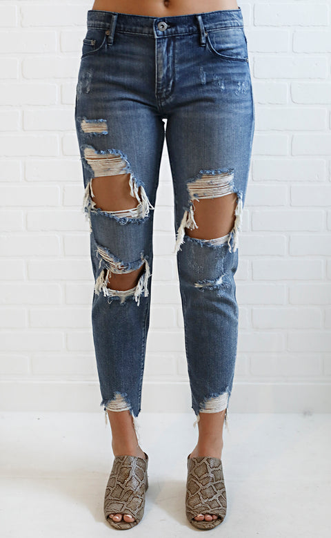 take a break crop jeans