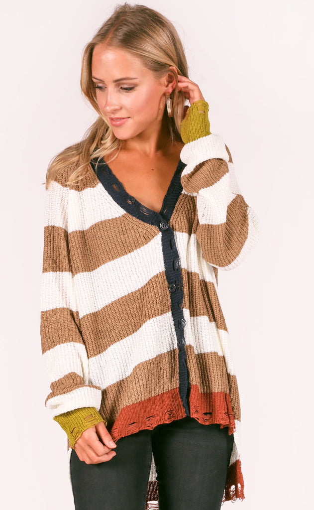 take a trip knit cardigan