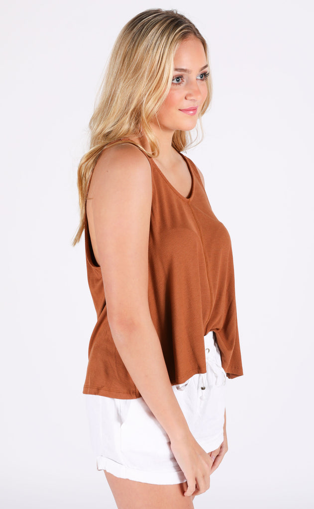 think basic tank top - sienna
