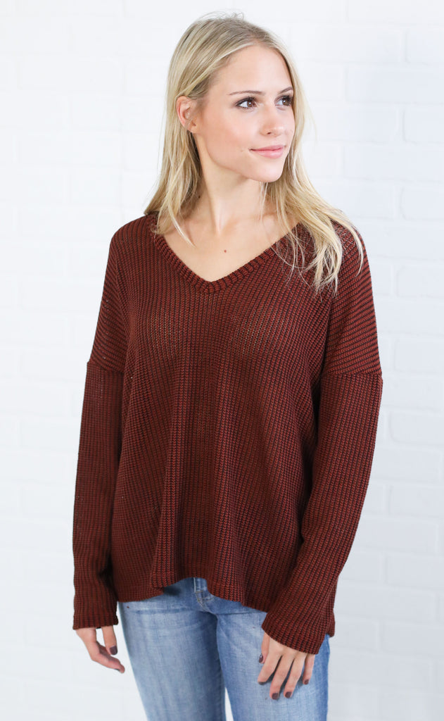 too good to be true knit top