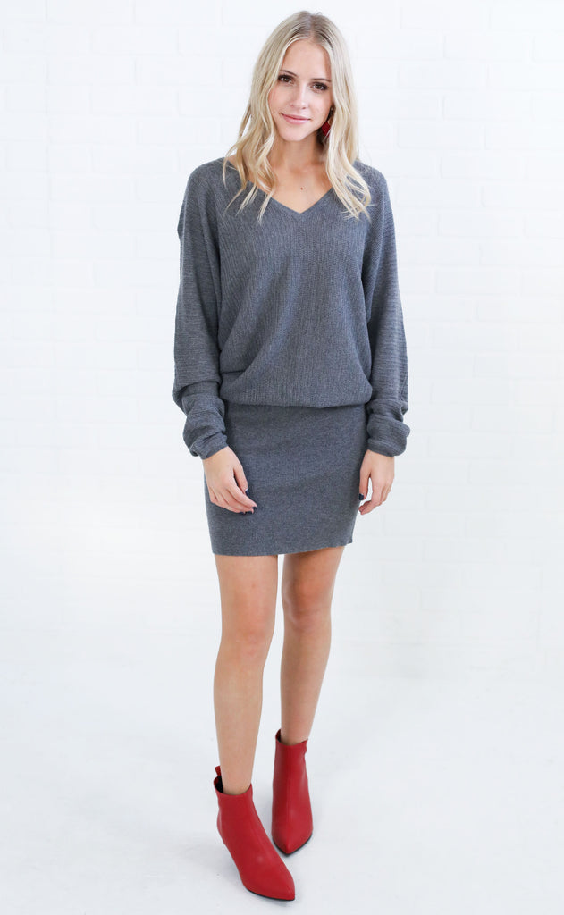 true love sweater dress