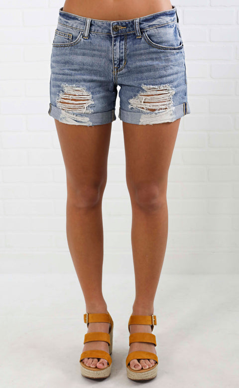 ultimate distressed shorts