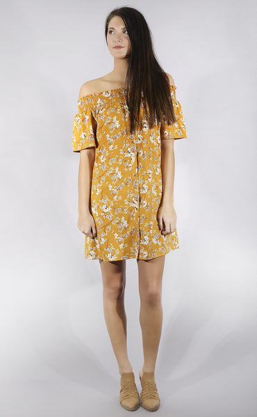 under the sun floral dress