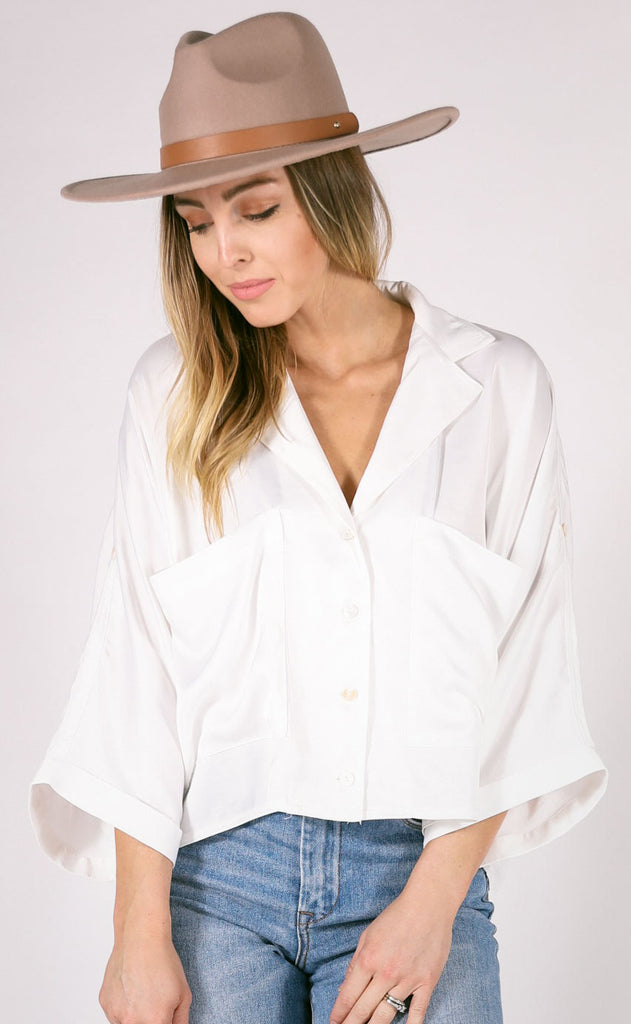 upper west side button up top