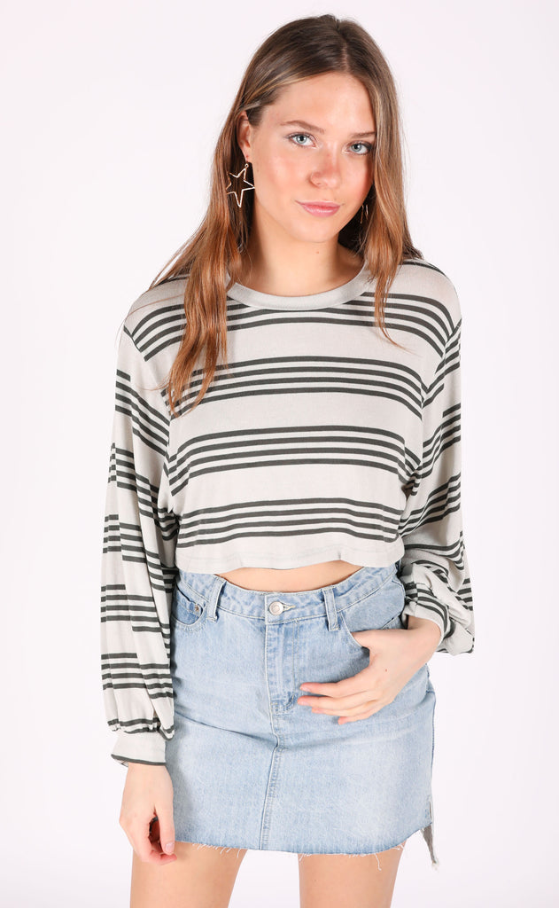 walk the line crop top