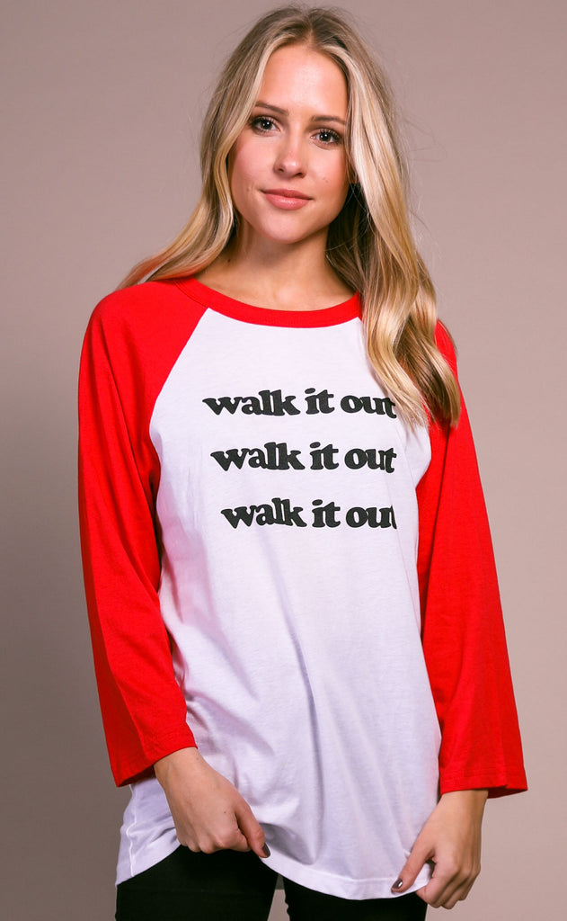 charlie southern: walk it out t shirt